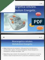 Curs 1 Bioenergetica Celulara Si Metabolism Oxidativ. MD 2014