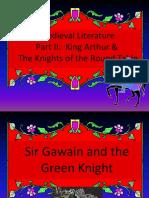 Medieval Lit - King Arthur Tales