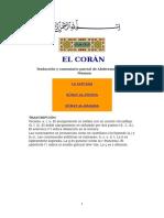 El Corán comentado por Abderramán Mohamed Maanan
