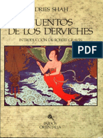 Shah Idries Cuentos de Los Derviches