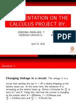 My presentation on Calculus