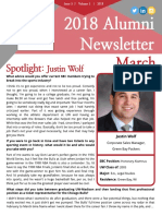 march 2018 - sbcuw monthly newsletter