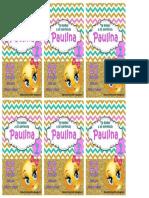 Libreta de Paulina