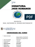 Etapas de Progresion de Los Derechos Humanos