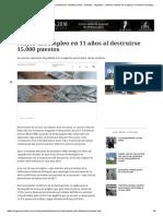 Mayor Desempleo en 11 Años Al Destruirse 15.000 Puestos - Noticias - Negocios - Últimas Noticias de Uruguay y El Mundo Actualizadas - Diario EL PAIS Uruguay