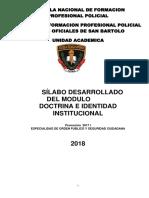 Silabo de Doctrina e Identidad Institucional Final