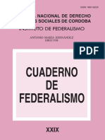 Cuaderno de Federalismo XXIX