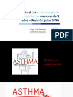 Manejo de Asma en Pacientes Menores de 5 Años - Revision GINA