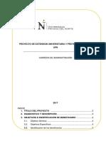 Proyecto de Extension Universitaria y Proyeccion Social (2)