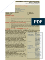 ARC414 Assignment 2010