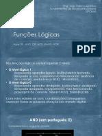 Aula1R - Portas logicas