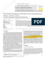 Bridgeman2010 the Development and Application of CFD Models for Water Treatment Flocculators