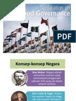 3. Good Governance.