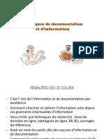 Thechniques de Documentation Et d'Information (1)