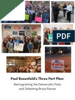 Three Part Plan - Committeeman Paul Rosenfeld