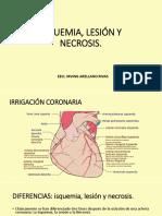 Isquemia, Lesión y Necrosis