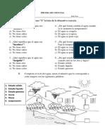322205148 Prueba de Ciencias Unidad Agua Segundo Basico