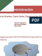 Clase N3 Empresas Cuarto Sector