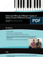 how and why do different types of music  1