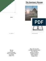 Sanctuary Message Booklet