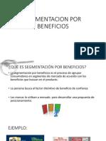 Segmentacion Por Beneficios