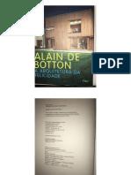 Alain de Bottom - Arquitetura Da Felicidade