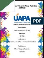 Educación Para La Paz y Formación Ciudadana REP.3