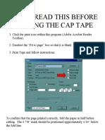 Online Cap Tape