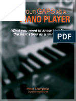 Fill in Your Gaps as a Keyboardist