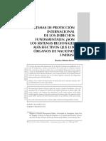Daniela Méndez Royo - Sistemas de Proteccion Internacional de Derechos Fundamentales