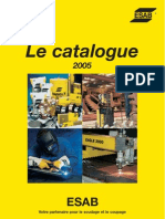 Catalogue ESAB