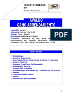 AVALUO COMERCIAL - Colombiana de Salud -. Modelo - Ok