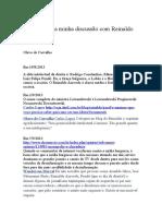 Olavo de Carvalho Vs. Reinaldo Azevedo