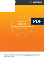 Leapfrog EDGE 2.0 Product Guide ES