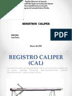 Registros Caliper