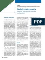 Alcoholic Cardiomyopathy - Herz (2016)