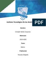 Analisis y diseño, Tarea 2 Matriz.docx