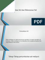 Tik 7 Pertumbuhan Sel Dan Diferensiasi Sel