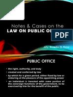 Law on Public Officersfinal