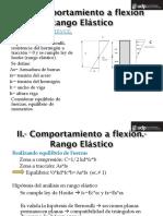 II Analisis a Flexion