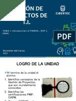 Gestio Proyecto TI - Introducción gestión proyectos