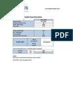Pump Flow Rate