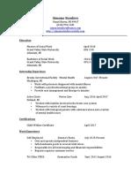 simones updated resume