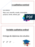 Variable Cualitativa Nominal