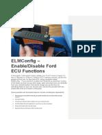 Ford Elmconfig