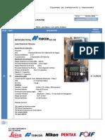 CT8074-ToPO Estacion Total TOPCON ES 105 Usado Seminuevo - Jimmy Junior Saldarriaga Sanchez