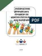 Anexo 9. Ambientes de Aprendizaje - Multigrado