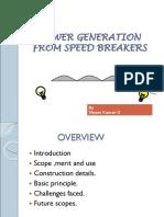 149654151 Power Generation From Speed Breakers