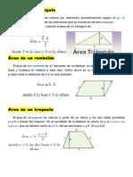 Área de Un Triangulo
