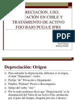 Depreciacion, Uso, Aplicación en Chile y